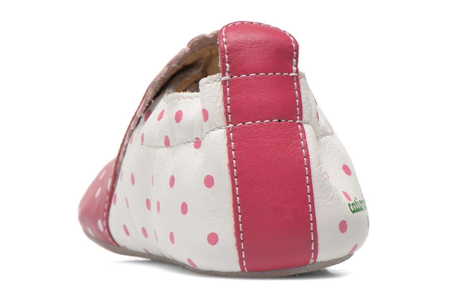 Slippers Catimini Caro Pink view from the right