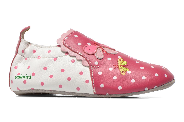 Slippers Catimini Caro Pink back view