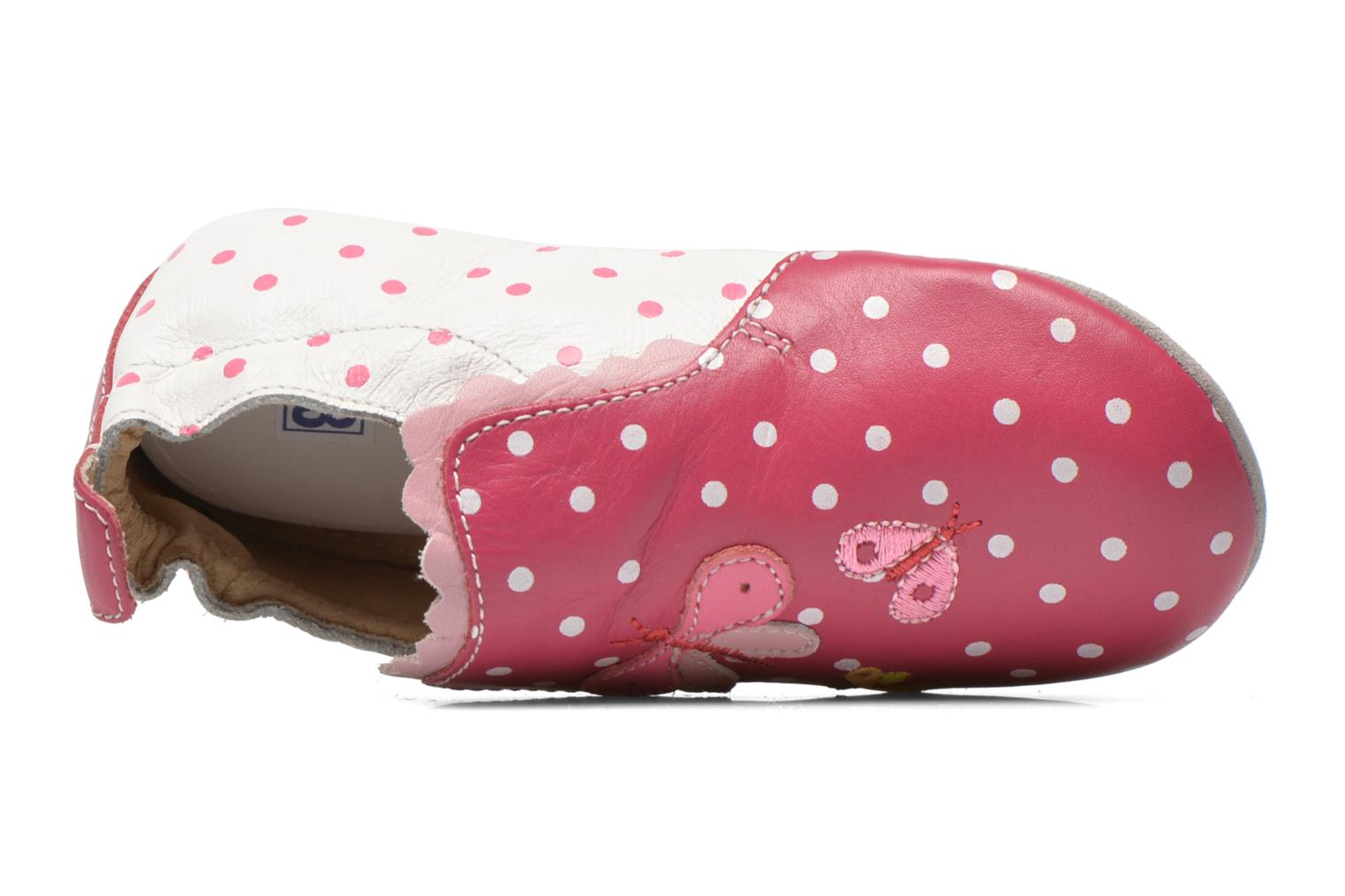 Slippers Catimini Caro Pink view from the left