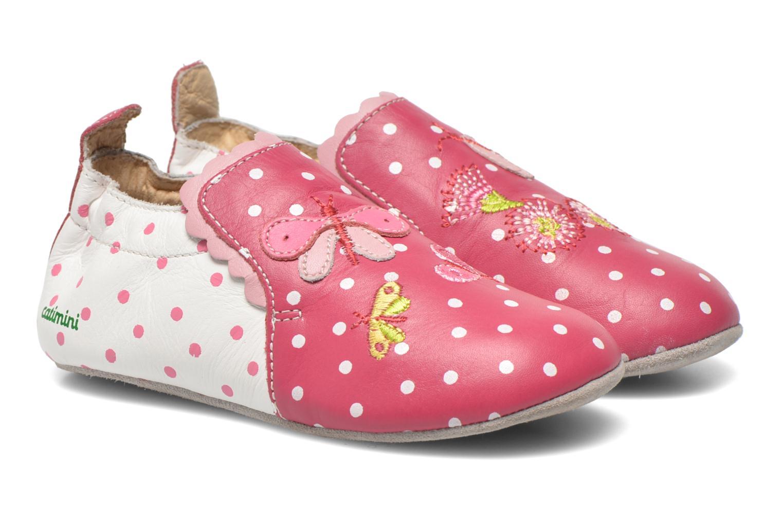 Slippers Catimini Caro Pink detailed view/ Pair view