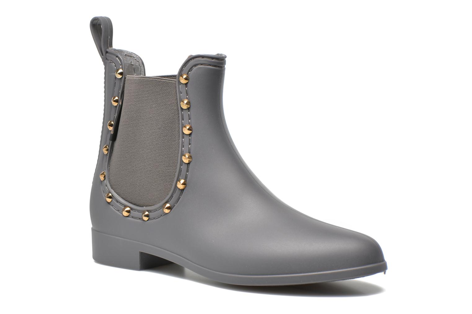 Bottines et boots Be Only Angy Mat Gris vue détail/paire