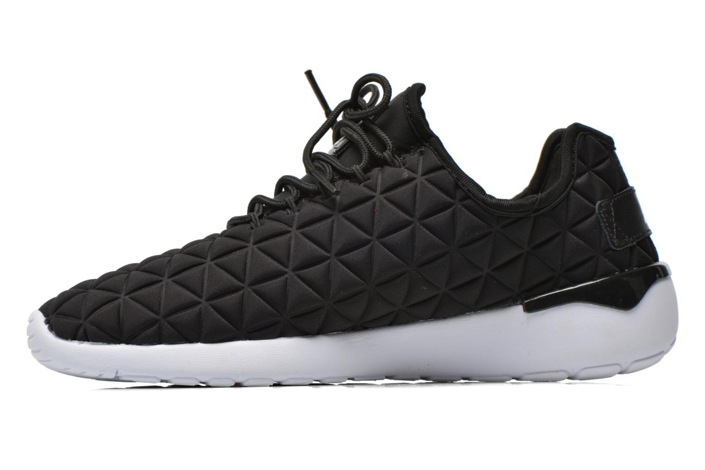 Sneakers Asfvlt Speed Socks Zwart voorkant