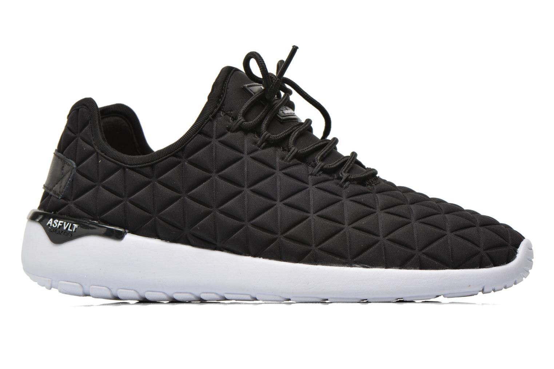 Sneakers Asfvlt Speed Socks Zwart achterkant