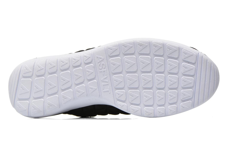 Sneaker Asfvlt Speed Socks schwarz ansicht von oben