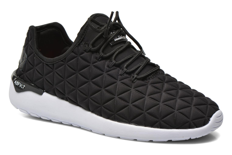 Sneakers Asfvlt Speed Socks Zwart detail