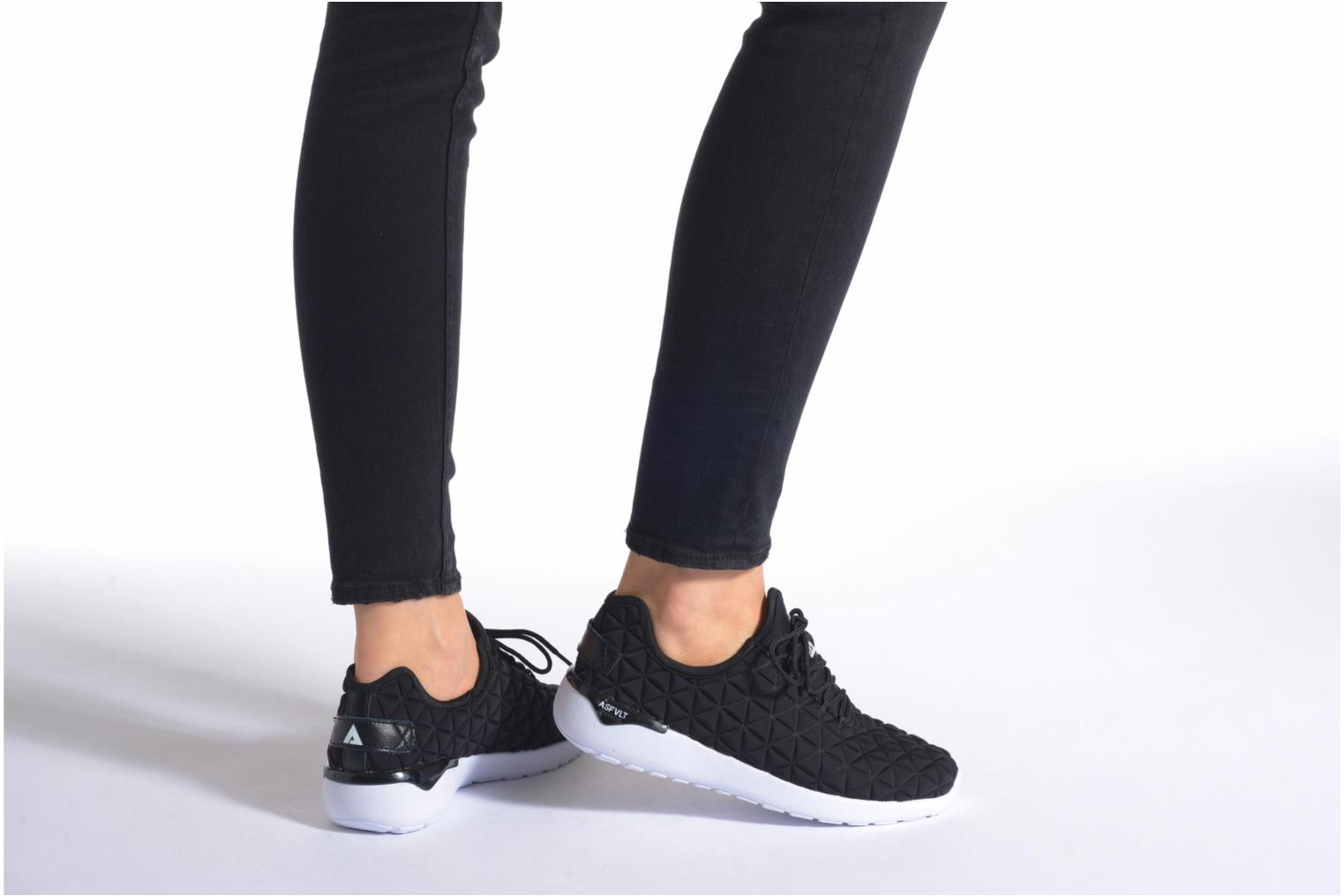 Trainers Asfvlt Speed Socks W Black view from underneath / model view