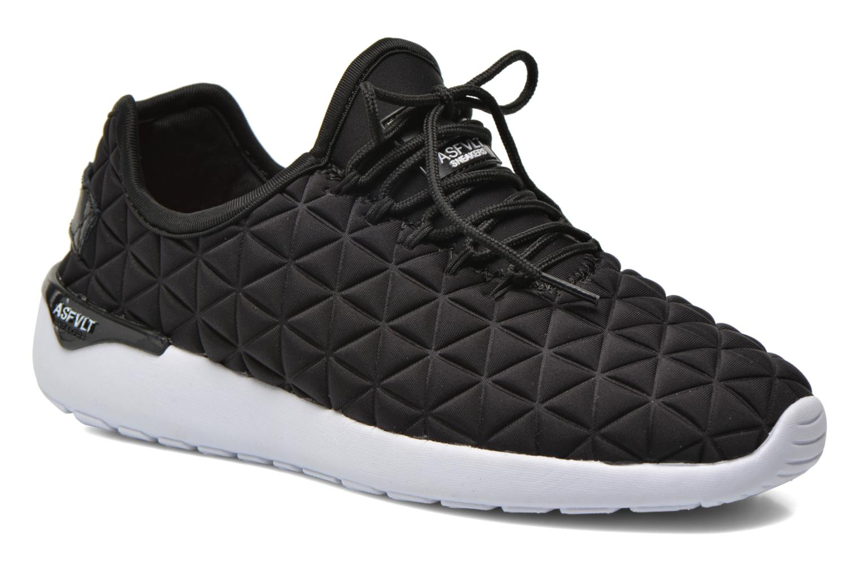 Sneakers Asfvlt Speed Socks W Zwart detail