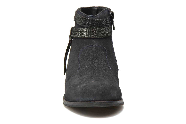 Stivaletti e tronchetti I Love Shoes KEPHYRS Leather Azzurro modello indossato