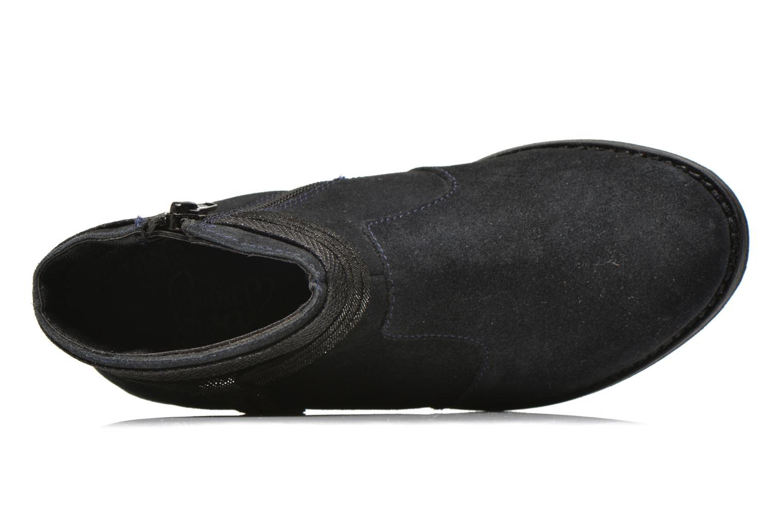 Stivaletti e tronchetti I Love Shoes KEPHYRS Leather Azzurro immagine sinistra