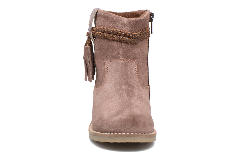 Bottines et boots I Love Shoes KERRIES Leather Rose vue portées chaussures