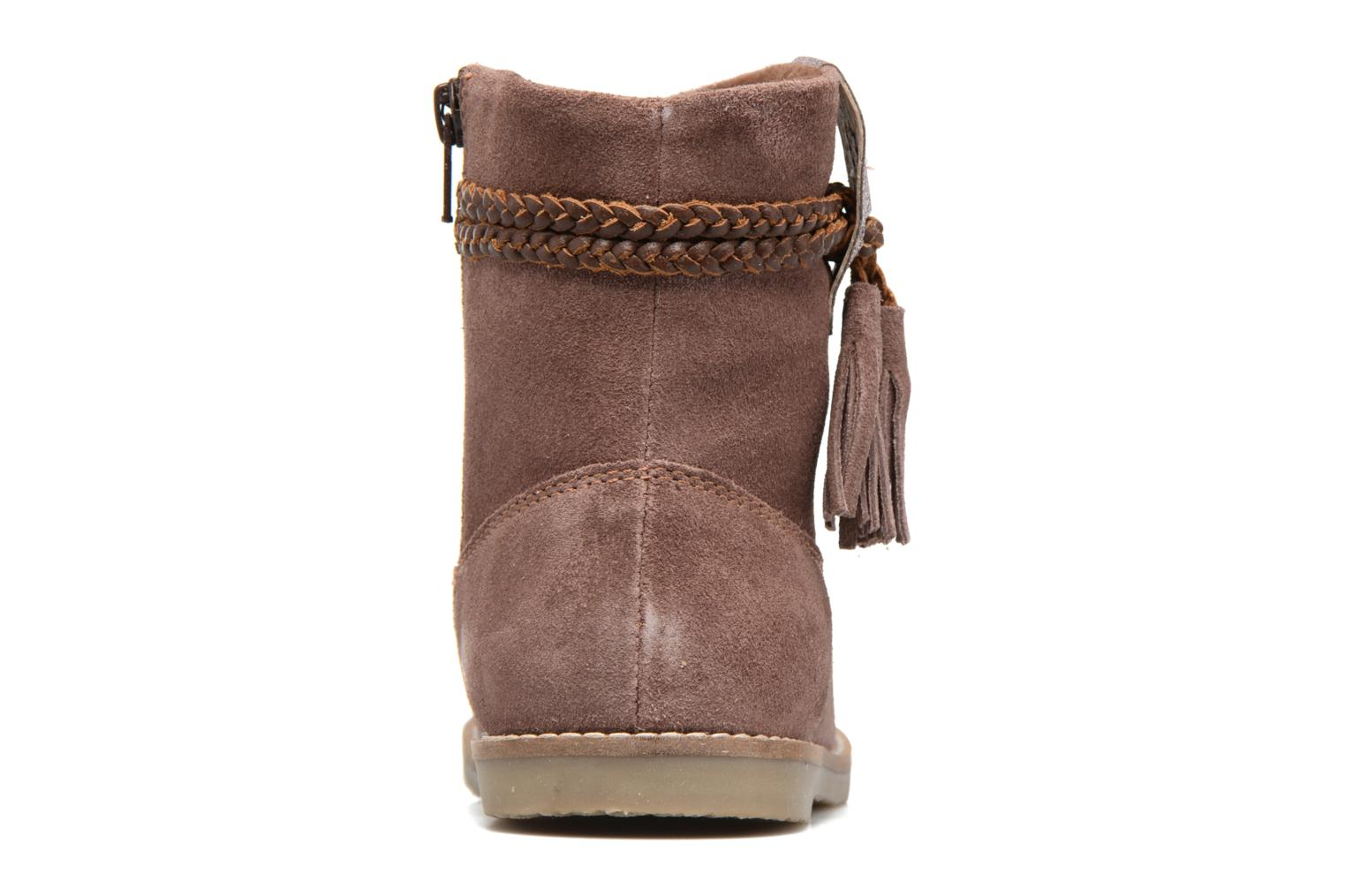 Ankle boots I Love Shoes KERRIES Leather Pink view from the right
