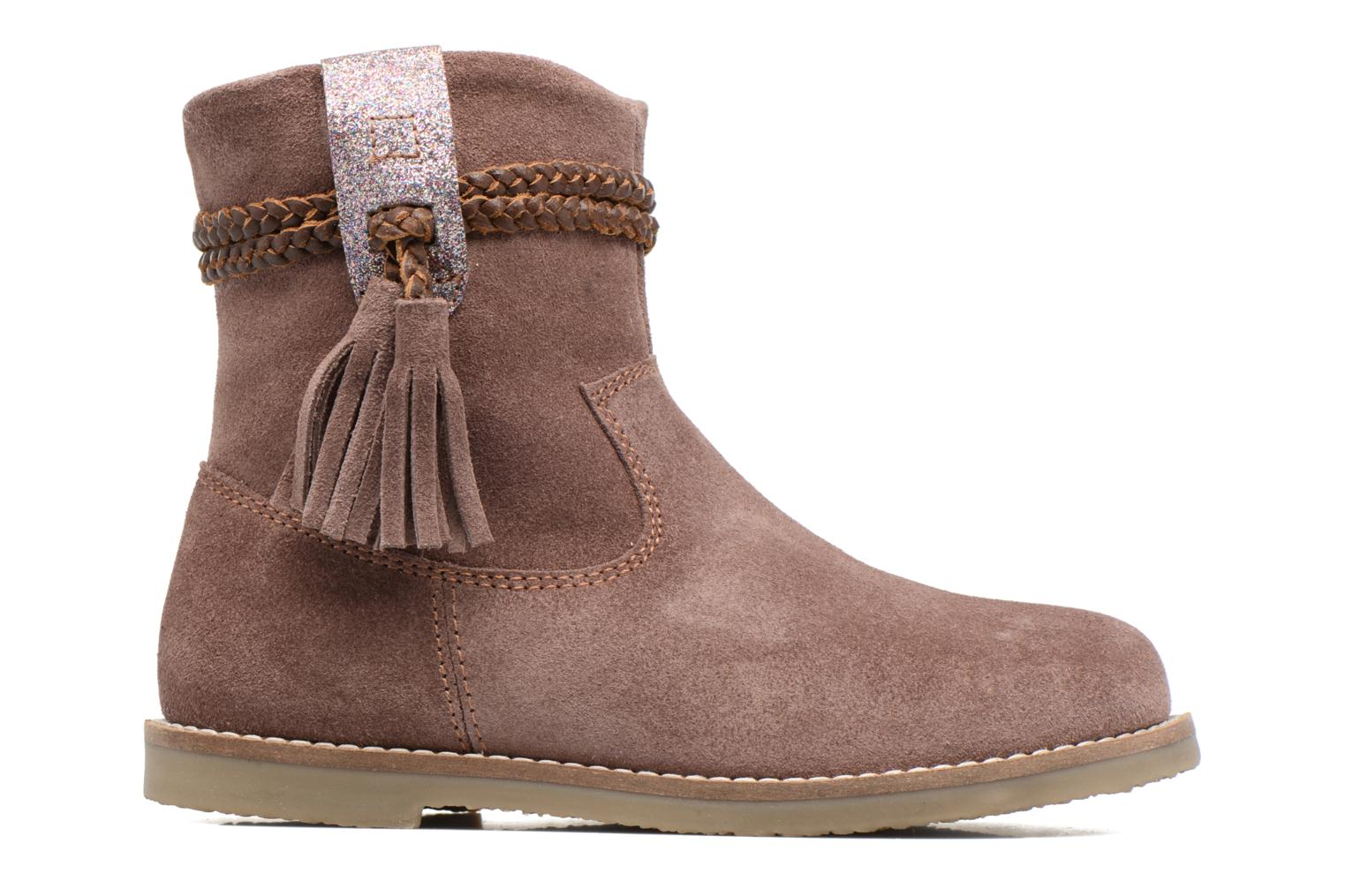 Ankle boots I Love Shoes KERRIES Leather Pink back view
