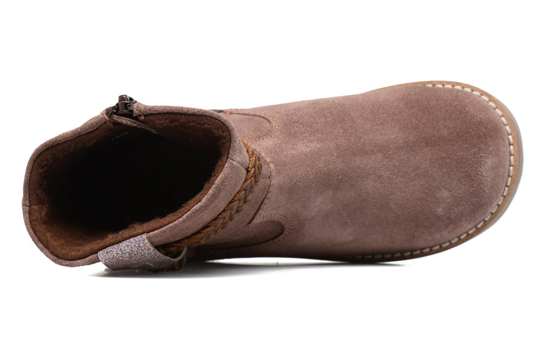 KERRIES Leather dk pink