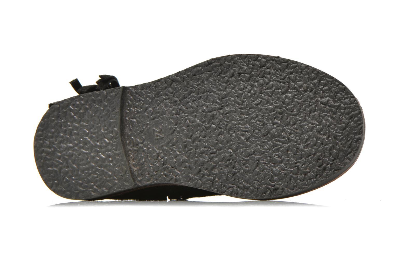 Bottines et boots I Love Shoes KERABAU Leather Noir vue haut