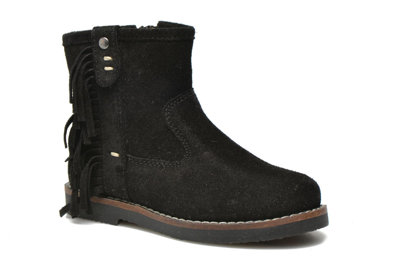 Bottines et boots I Love Shoes KERABAU Leather Noir vue détail/paire