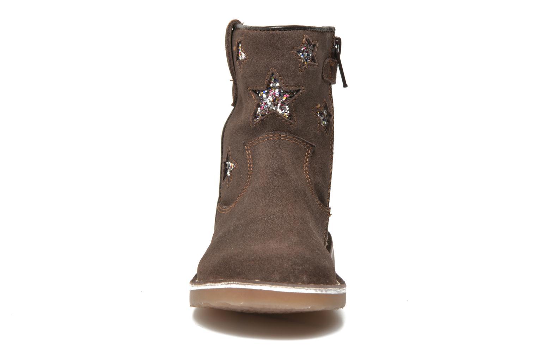 Stivaletti e tronchetti I Love Shoes KETMIES Leather Marrone modello indossato