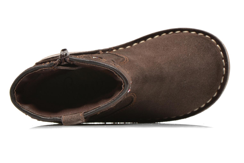 Stivaletti e tronchetti I Love Shoes KETMIES Leather Marrone immagine sinistra