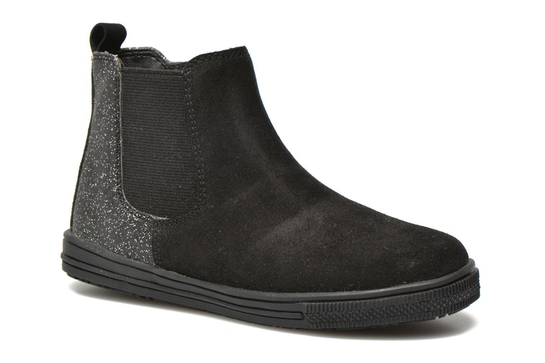 KENTIAS Leather black + glitter