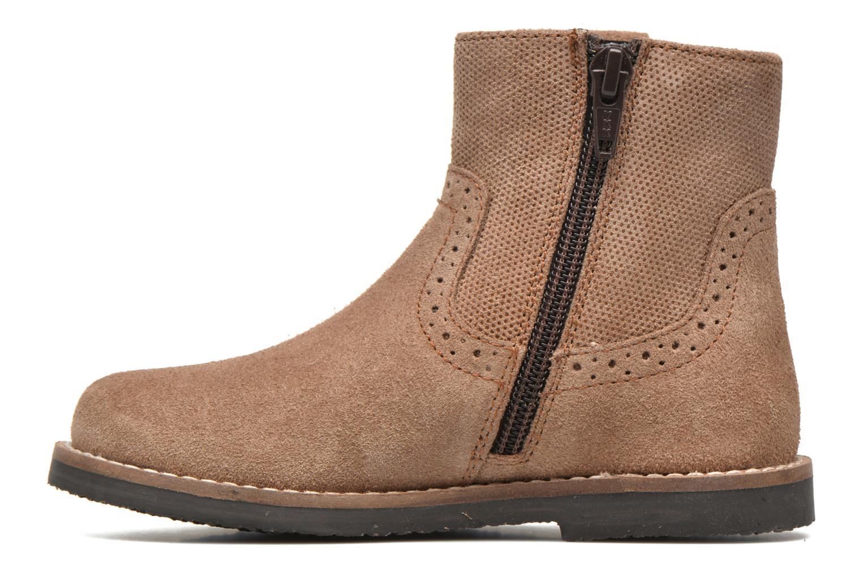 Bottines et boots I Love Shoes KEFFOIS Leather Marron vue face
