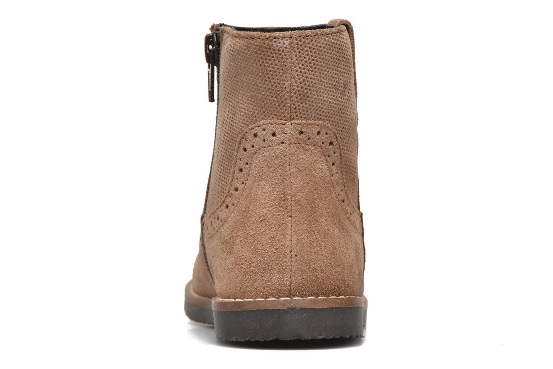 Bottines et boots I Love Shoes KEFFOIS Leather Marron vue droite