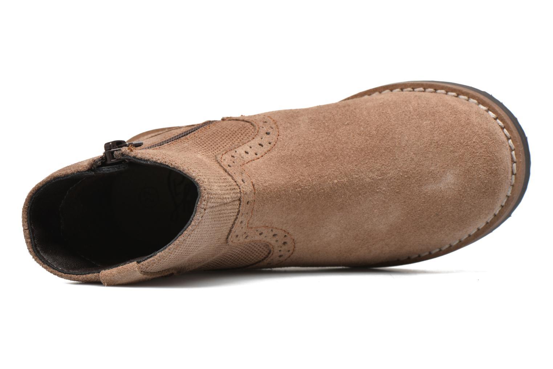 Bottines et boots I Love Shoes KEFFOIS Leather Marron vue gauche