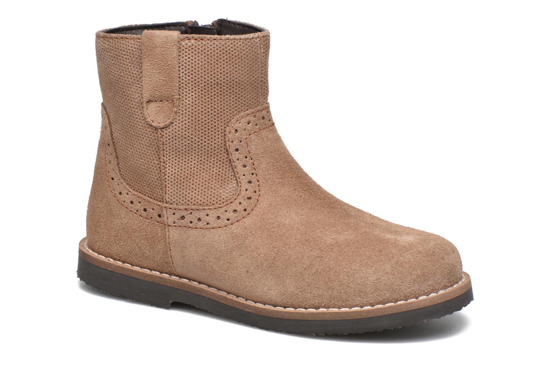 Bottines et boots I Love Shoes KEFFOIS Leather Marron vue détail/paire