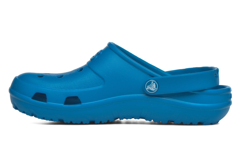 Mules et sabots Crocs Crocs Hilo Clog W Bleu vue face
