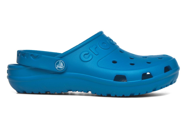 Mules et sabots Crocs Crocs Hilo Clog W Bleu vue derrière