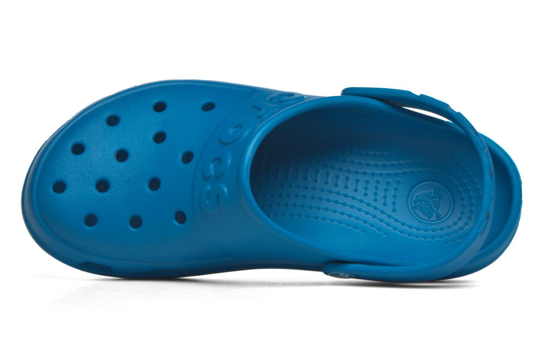 Mules et sabots Crocs Crocs Hilo Clog W Bleu vue gauche
