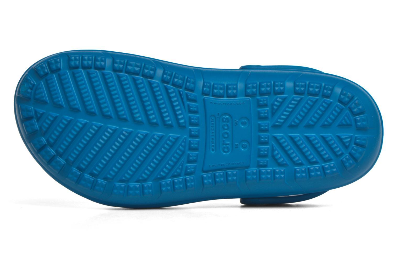 Mules et sabots Crocs Crocs Hilo Clog W Bleu vue haut