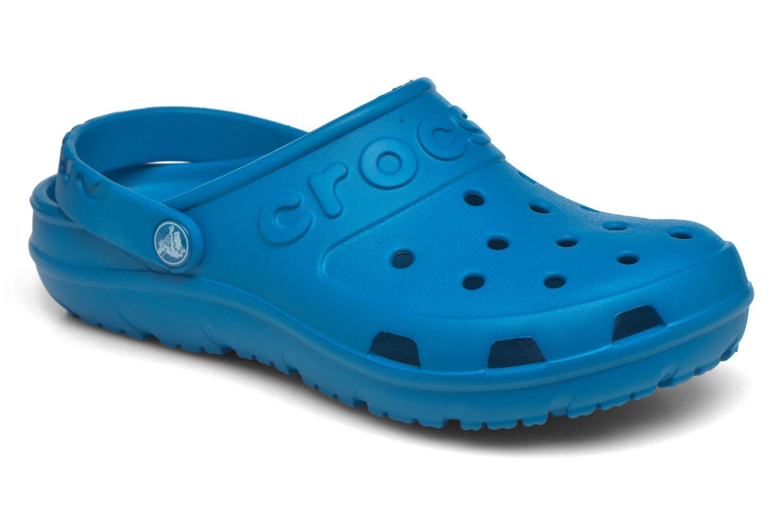 Mules et sabots Crocs Crocs Hilo Clog W Bleu vue détail/paire