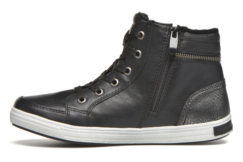 Sneaker I Love Shoes SUSKAT schwarz ansicht von vorne