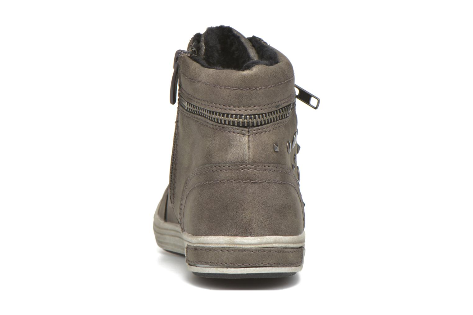 Deportivas I Love Shoes SUSKAT Gris vista lateral derecha