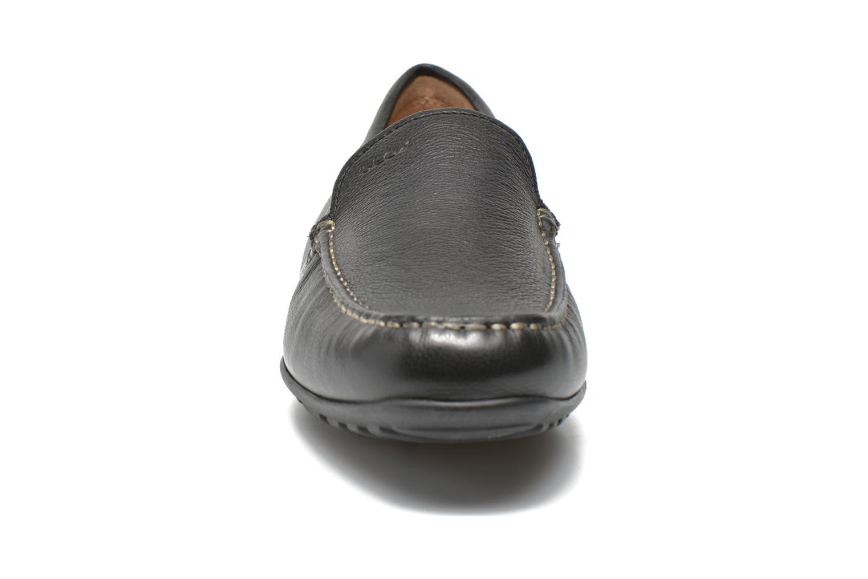 Mocassins Geox U Fast U2254G Noir vue portées chaussures