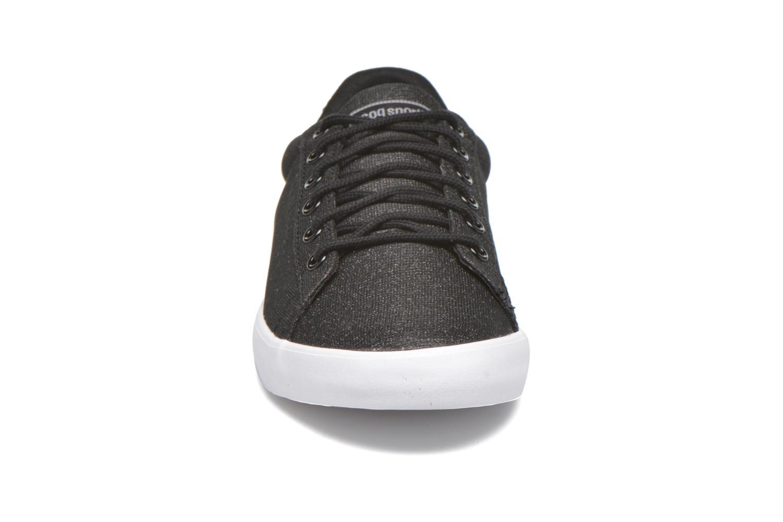 Baskets Le Coq Sportif Agate Lo Glitter Allover Noir vue portées chaussures