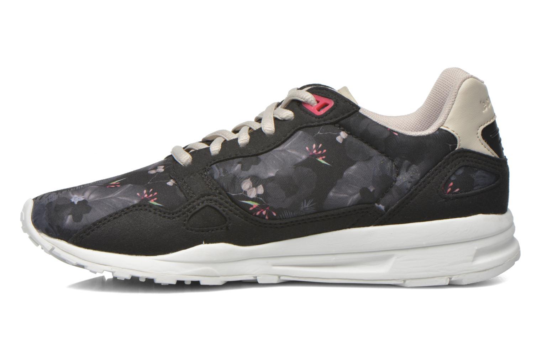 Sneakers Le Coq Sportif Lcs R900 W Winter Floral Nero immagine frontale