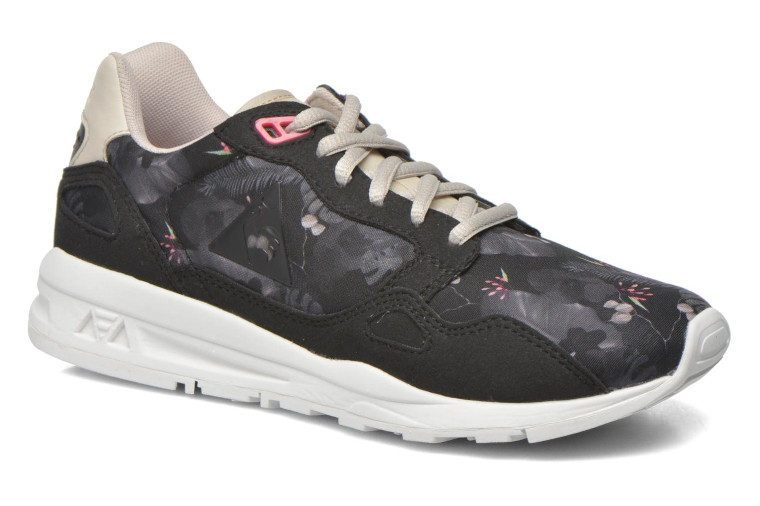 Trainers Le Coq Sportif Lcs R900 W Winter Floral Black detailed view/ Pair view
