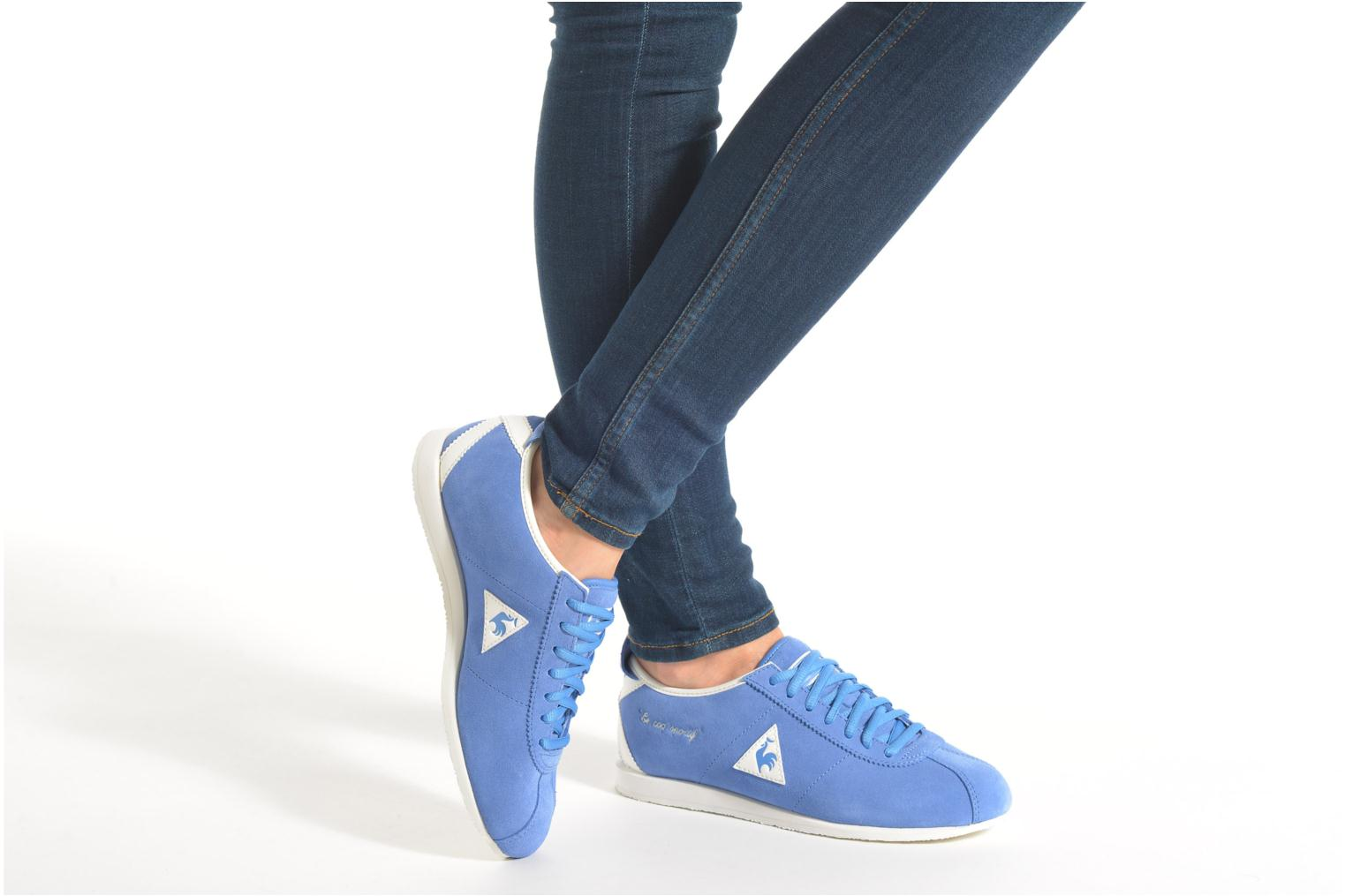 Trainers Le Coq Sportif Wendon W Suede Blue view from underneath / model view