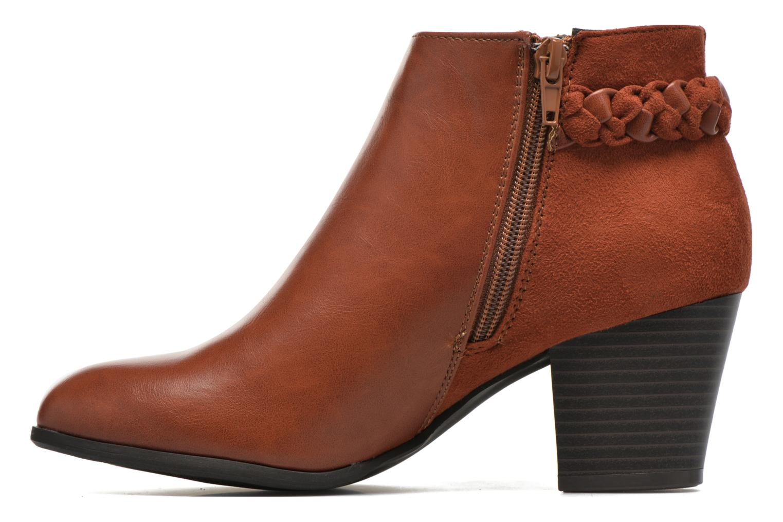 Stiefeletten & Boots I Love Shoes VYMTRESSIA braun ansicht von vorne