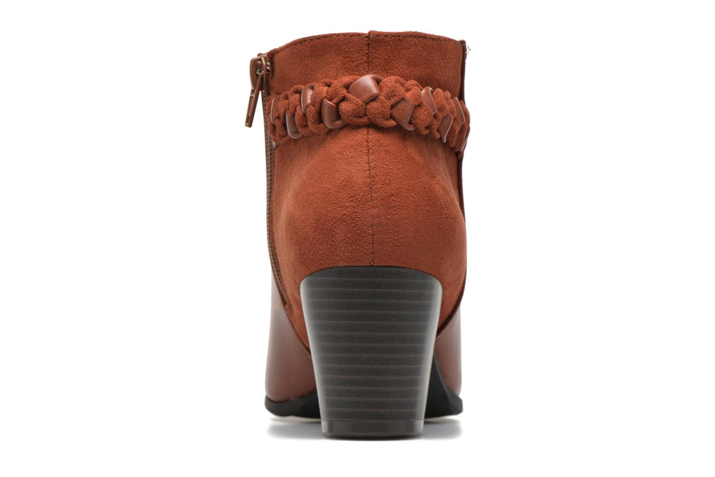 Botines  I Love Shoes VYMTRESSIA Marrón vista lateral derecha