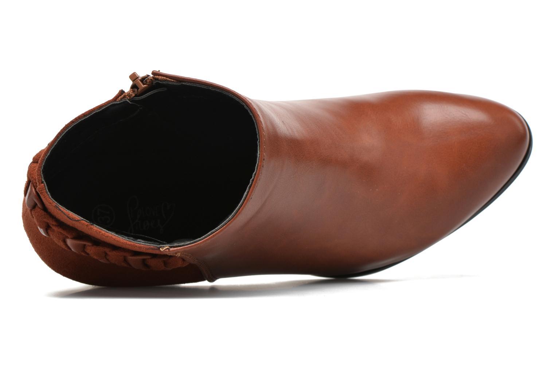 Botines  I Love Shoes VYMTRESSIA Marrón vista lateral izquierda
