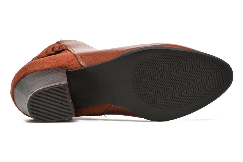 Botines  I Love Shoes VYMTRESSIA Marrón vista de arriba