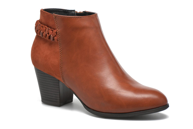 Botines  I Love Shoes VYMTRESSIA Marrón vista de detalle / par