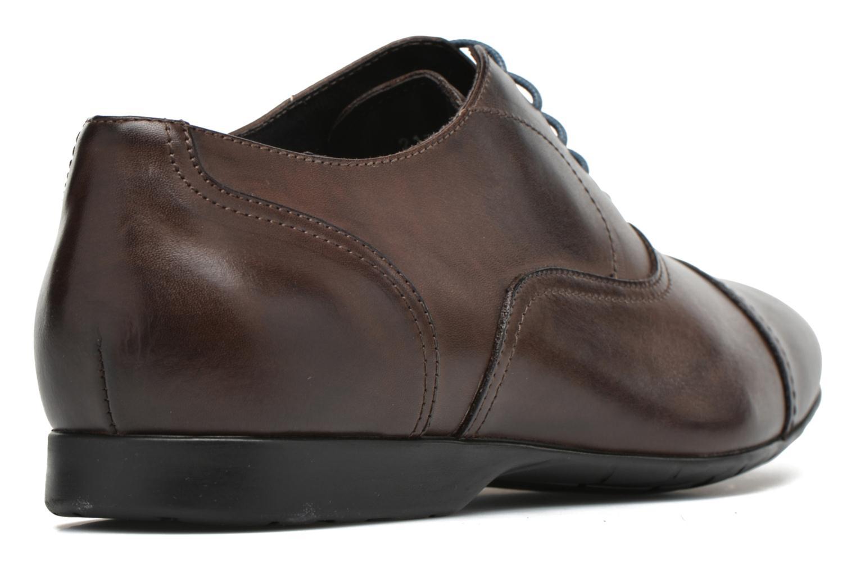 Zapatos con cordones Mr SARENZA Nathan Marrón vista de frente