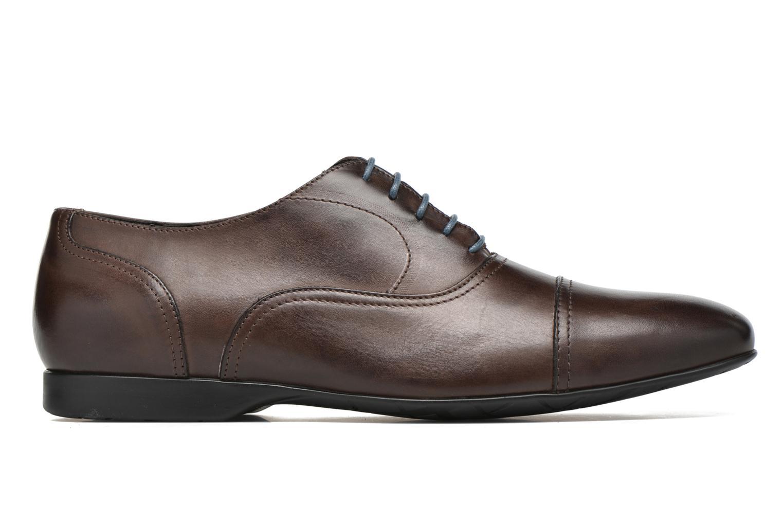Zapatos con cordones Mr SARENZA Nathan Marrón vista de detalle / par