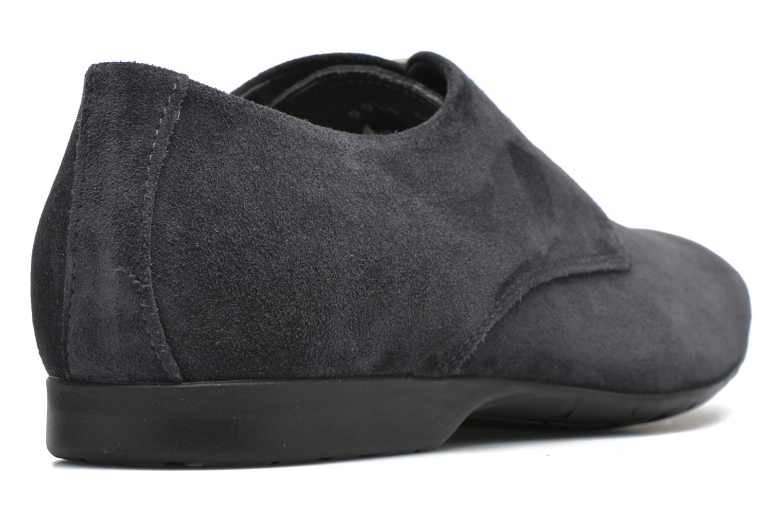 Zapatos con cordones Mr SARENZA Nathy Azul vista de frente
