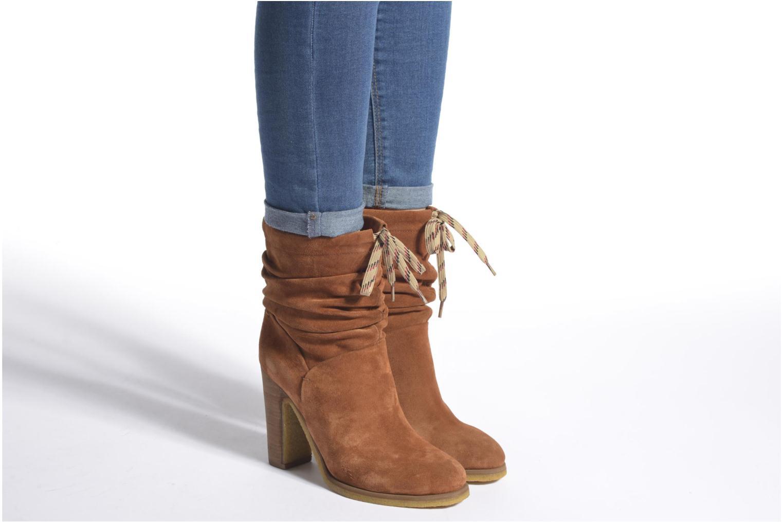 Stiefeletten & Boots See by Chloé Yvil orange ansicht von unten / tasche getragen