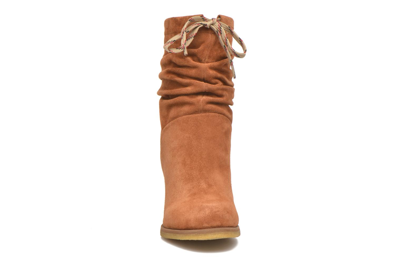 Stiefeletten & Boots See by Chloé Yvil orange schuhe getragen