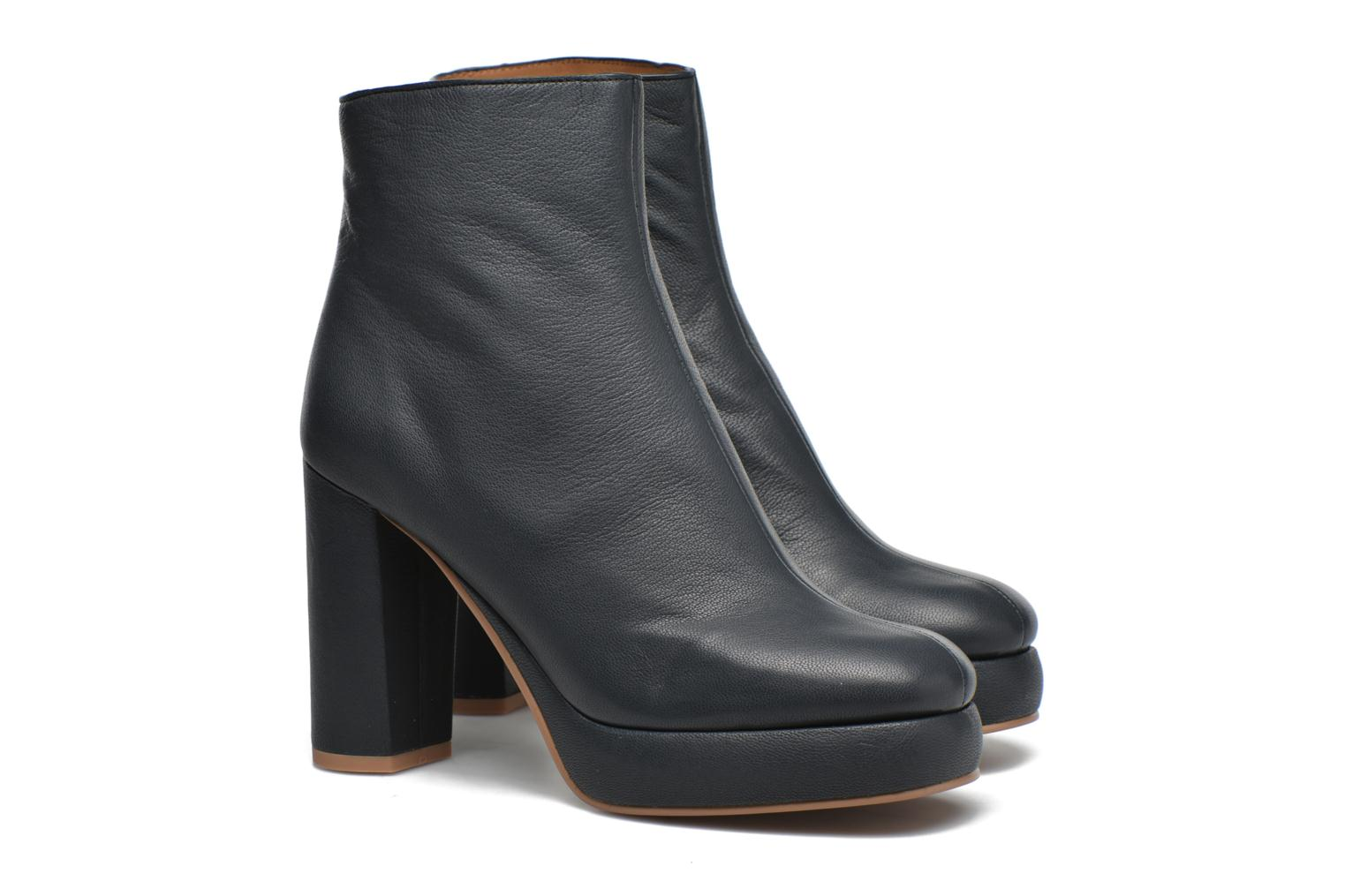 Ankle boots See by Chloé Ybli Blue 3/4 view