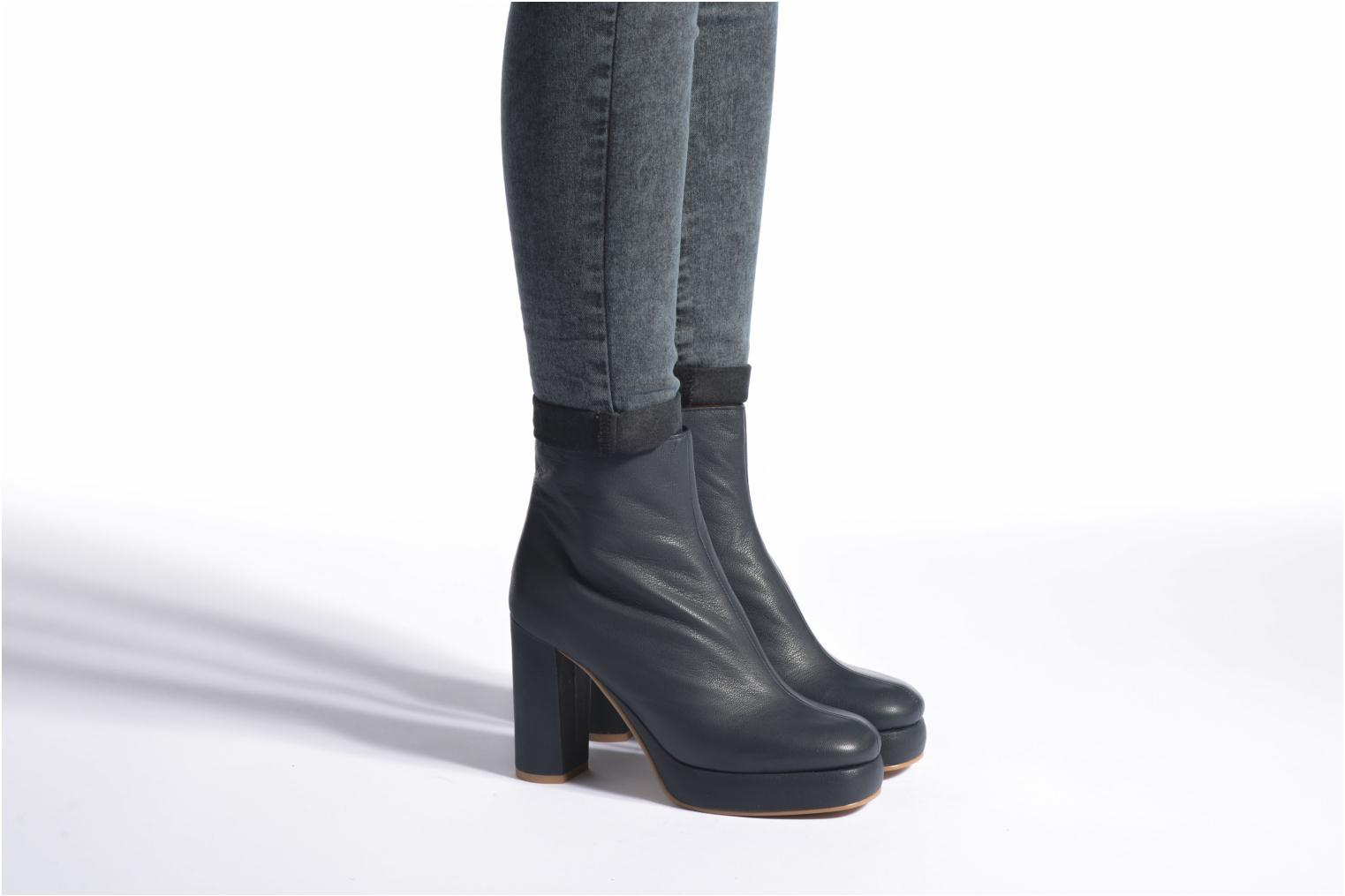 Ankle boots See by Chloé Ybli Blue view from underneath / model view